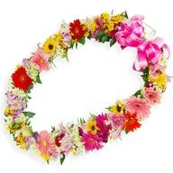 꽃목걸이(행사용)3556